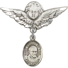 St Vincent de Paul<br>Baby Badge - 9134/0733