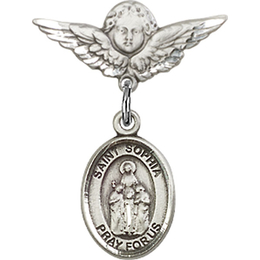 St Sophia<br>Baby Badge - 9136/0735