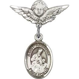 St Ambrose<br>Baby Badge - 9137/0735