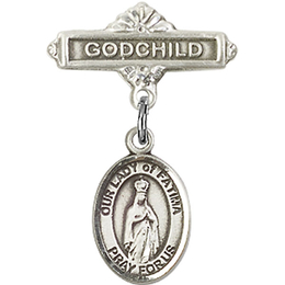 Our Lady of Fatima<br>Baby Badge - 9205/0736