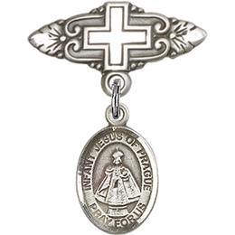 Infant of Prague<br>Baby Badge - 9207/0731