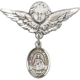 Infant of Prague<br>Baby Badge - 9207/0733