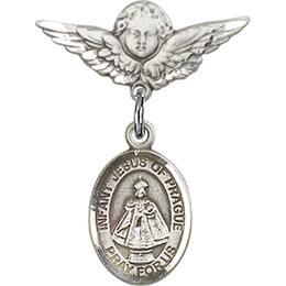 Infant of Prague<br>Baby Badge - 9207/0735
