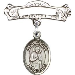 St Isaac Jogues<br>Baby Badge - 9212/0732
