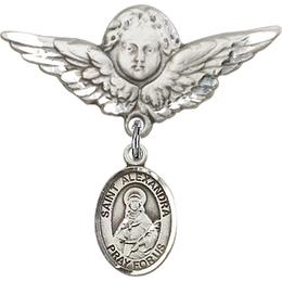 St Alexandra<br>Baby Badge - 9215/0733