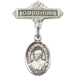 St Ignatius<br>Baby Badge - 9217/0736
