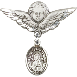 Our Lady of Perpetual Help<br>Baby Badge - 9222/0733