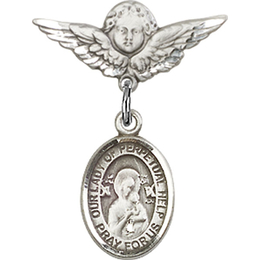 Our Lady of Perpetual Help<br>Baby Badge - 9222/0735