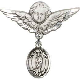 St Victor of Marseilles<br>Baby Badge - 9223/0733