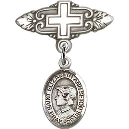 St Elizabeth Ann Seton<br>Baby Badge - 9224/0731