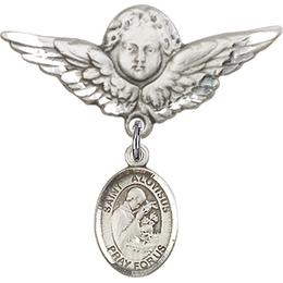 St Aloysius Gonzaga<br>Baby Badge - 9225/0733