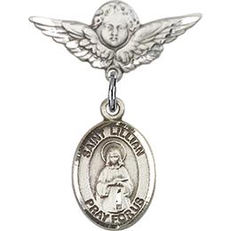 St Lillian<br>Baby Badge - 9226/0735