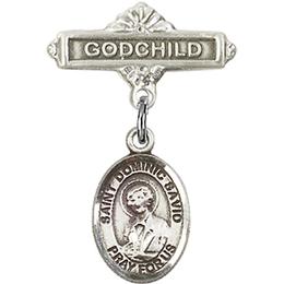 St Dominic Savio<br>Baby Badge - 9227/0736