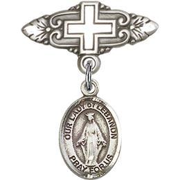Our Lady of Lebanon<br>Baby Badge - 9229/0731