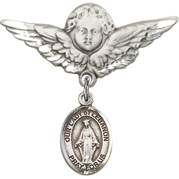 Our Lady of Lebanon<br>Baby Badge - 9229/0733