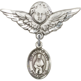 Our Lady of Hope<br>Baby Badge - 9230/0733