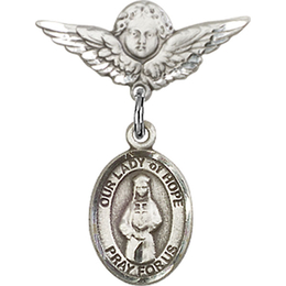 Our Lady of Hope<br>Baby Badge - 9230/0735