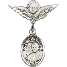 St John Paul II<br>Baby Badge - 9234/0735