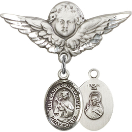 Our Lady of Mount Carmel<br>Baby Badge - 9243/0733