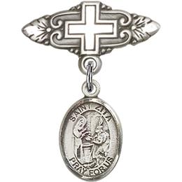 St Zita<br>Baby Badge - 9244/0731
