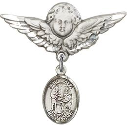 St Zita<br>Baby Badge - 9244/0733