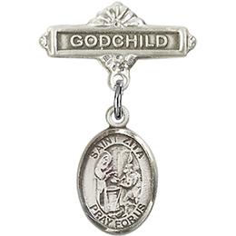St Zita<br>Baby Badge - 9244/0736