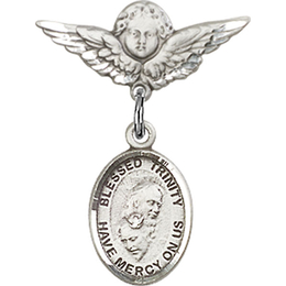 Blessed Trinity<br>Baby Badge - 9249/0735