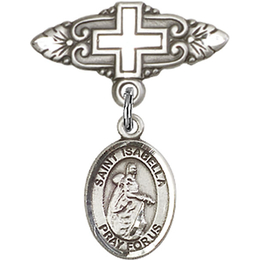 St Isabella of Portugal<br>Baby Badge - 9250/0731