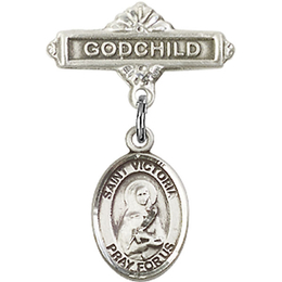St Victoria<br>Baby Badge - 9253/0736