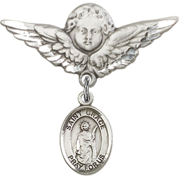 St Grace<br>Baby Badge - 9255/0733