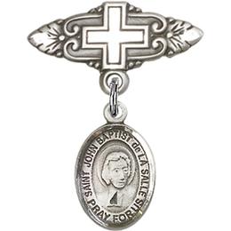 St John Baptist de la Salle<br>Baby Badge - 9262/0731