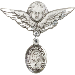 St John Baptist de la Salle<br>Baby Badge - 9262/0733