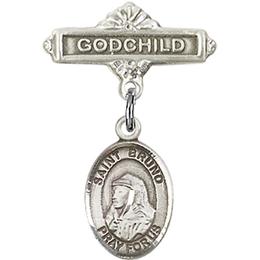 St Bruno<br>Baby Badge - 9270/0736