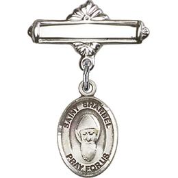 St Sharbel<br>Baby Badge - 9271/0730