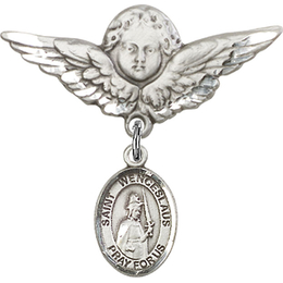 St Wenceslaus<br>Baby Badge - 9273/0733