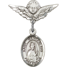 St Wenceslaus<br>Baby Badge - 9273/0735
