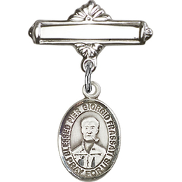 Blessed Pier Giorgio Frassati<br>Baby Badge - 9278/0730