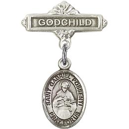 St Gabriel Possenti<br>Baby Badge - 9279/0736