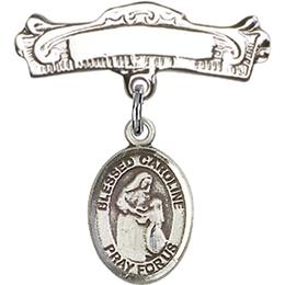 Blessed Caroline Gerhardinger<br>Baby Badge - 9281/0732