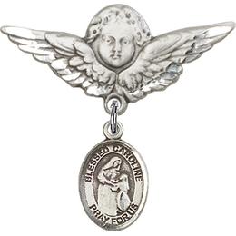 Blessed Caroline Gerhardinger<br>Baby Badge - 9281/0733