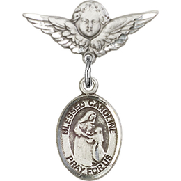 Blessed Caroline Gerhardinger<br>Baby Badge - 9281/0735