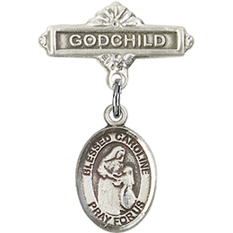 Blessed Caroline Gerhardinger<br>Baby Badge - 9281/0736