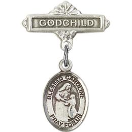 Blessed Caroline Gerhardinger<br>Baby Badge - 9281/0736