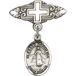 Blessed Karolina Kozkowna<br>Baby Badge - 9283/0731