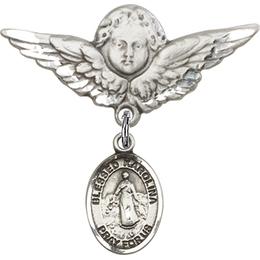 Blessed Karolina Kozkowna<br>Baby Badge - 9283/0733