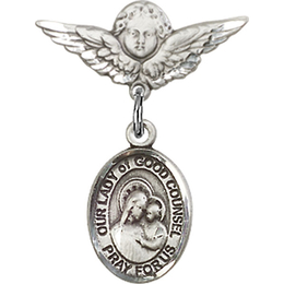 Our Lady of Good Counsel<br>Baby Badge - 9287/0735