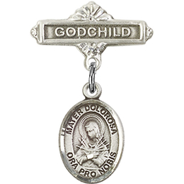 Mater Dolorosa<br>Baby Badge - 9290/0736