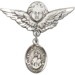 Our Lady of Consolation<br>Baby Badge - 9292/0733