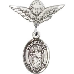 St Aedan of Ferns<br>Baby Badge - 9293/0735