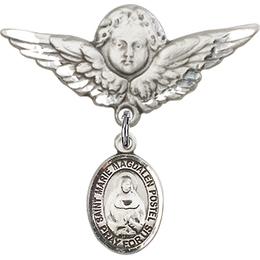 Marie Magdalen Postel<br>Baby Badge - 9294/0733
